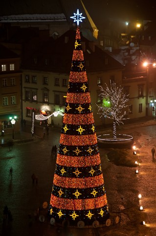 Warsaw Christmas Cone