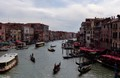 The Busy Grand Canal of Venice