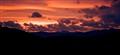 Sunset in Slovak mountains