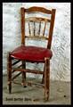 Chair, Alpujarras, Andalucia