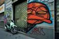 Red Face in Milan