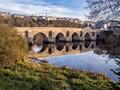 Roman bridge, River Miño, Lugo