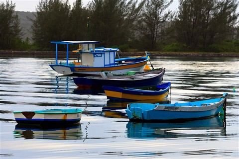 Boats in Cabo Frio