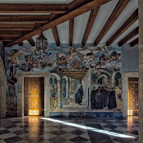 Samos monastery, Galicia