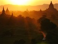 Sunst at Bagan (Myanmar)