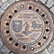 Found throughout the world: Sewer cover - Gdansk, Poland
