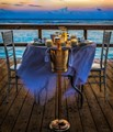 Candle Light Dinner for Two at Sunset
