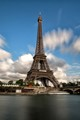 Eifel tower and boat