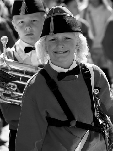 Music Corps Girl  (and Boy)
