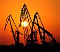Odessa (Ukraine) trade port