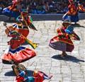 Bhutan Dance of the Black Hats