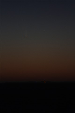PanSTARRS over Rottnest2 March 8