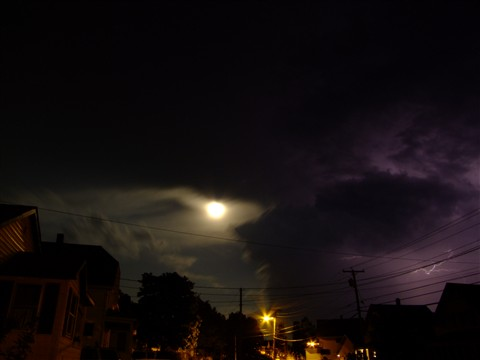Full Moon Lightning