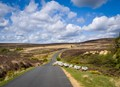 over the moors to Rosedale, North Yorkshire.