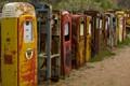Row Of Broken Pumps