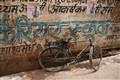 Bicycle in Varanasi, India