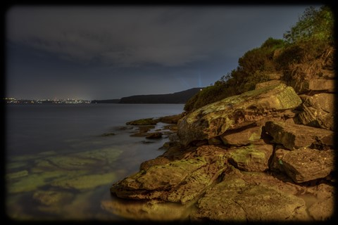 Nightrocks at Manly Cove
