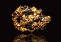 A gold pyrites