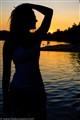 Her body, the sun