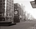 The Old Kerns clock in Detroit