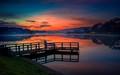 Pier on a Lake