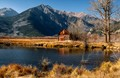 Twin Lakes Barn In Colorado