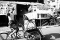 Pedicab in Malang,