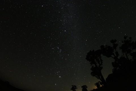 My backyard sky.