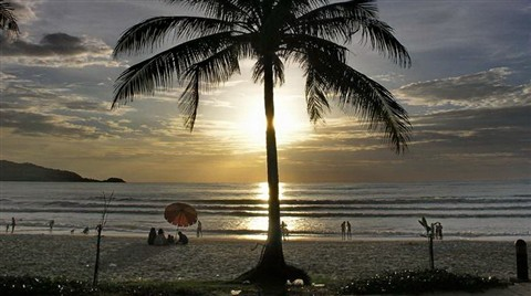 Patong Beach Sunset 2