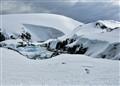 Snow scene, Antarctica