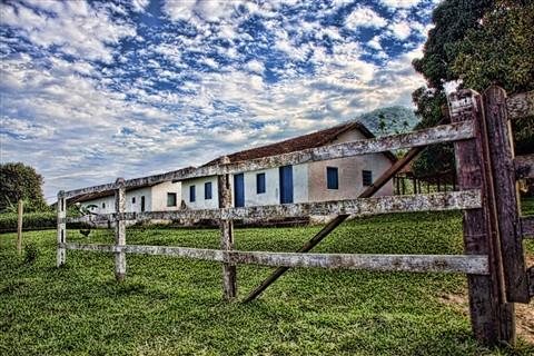 Old slave sugar cane farm