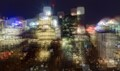 The city of Calgary, three exposure HDR