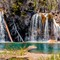 Waterfall at Hanging Lake | Hanging Lake, Glenwood Canyon, CO | May, 2014
