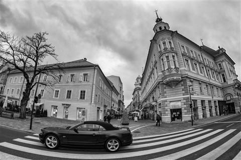 Ford Mustang in Klagenfurt (Austria)