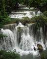 Huay Mae Khamin Waterfall , Kanchanaburi, Thailand