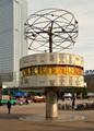 world time watch on Alexanderplatz / Berlin (Germany)