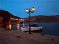 Lights in Antikira, Greece