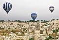 Cloudy Cappadocia