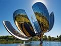 Giant Stainless Steel Flower