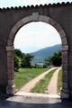Old italian portal