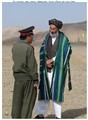 Two old Afghan men in national dress