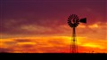 McCown's Windmill:  a Texas Sunset