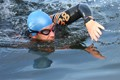 Swimmer - open water triathlon