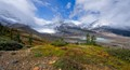 Columbia Icefield in September