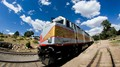 Grand Canyon Railway  with 8 mm lens