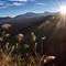 Alishan, sunrise over Central Mountain Range