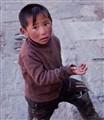 Begging in Lhasa (Tibet)