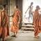 Angkor Wat Monks: Angkor Wat Buddhist monks, Siem Reap Cambodia.