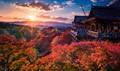 Sunset At Kiyomizu