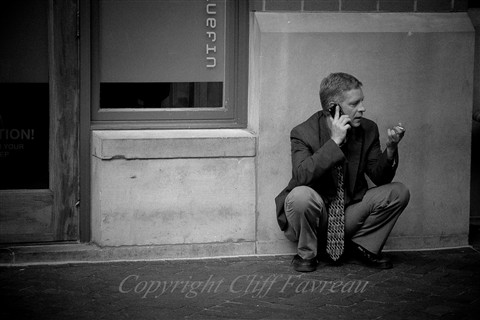 Man on phone (1 of 1)
